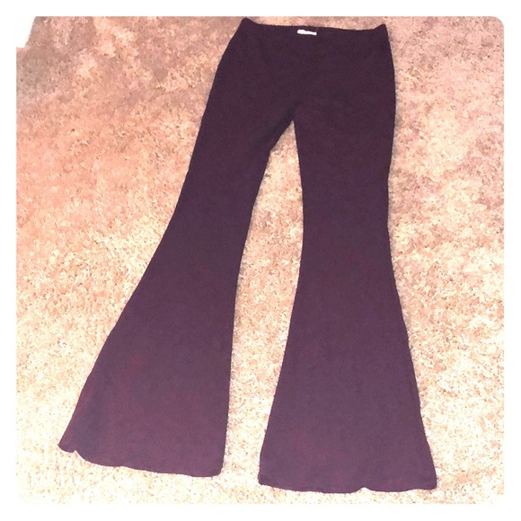 15820efcda4 Forever 21 Pants - Dark purple bell bottoms